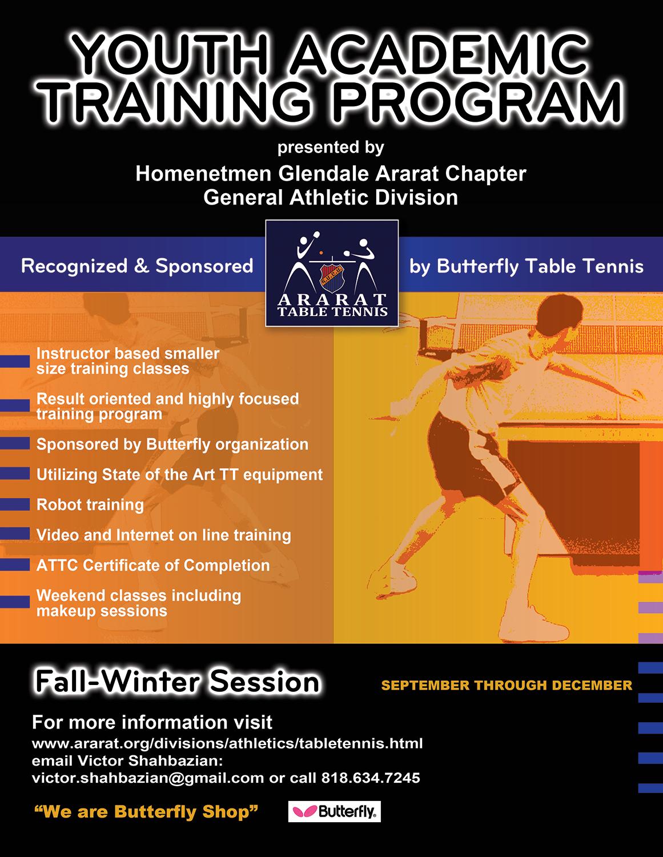 Youth Academic Training Program