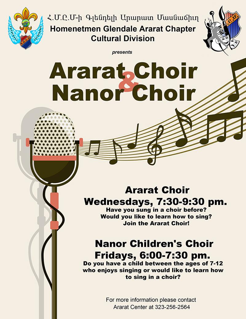 Ararat Choir and Nanor Choir