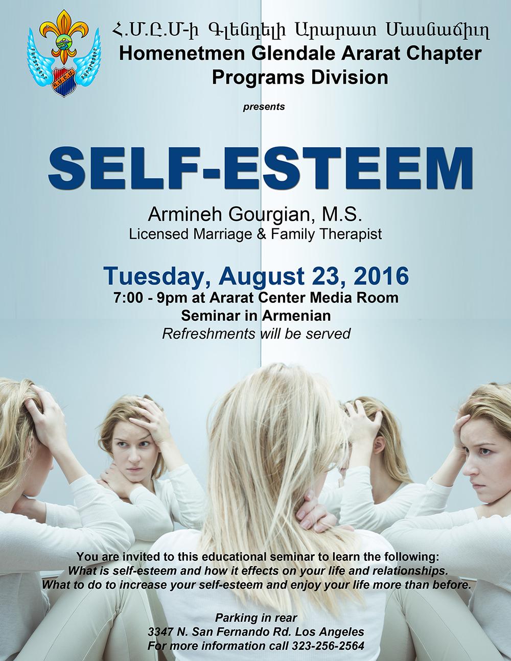 Self Esteem Seminar