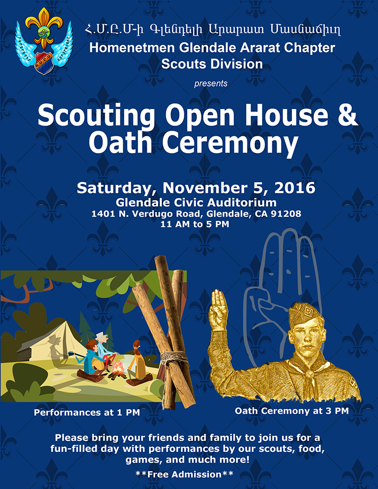 Scouting Open House & Oath Ceremony