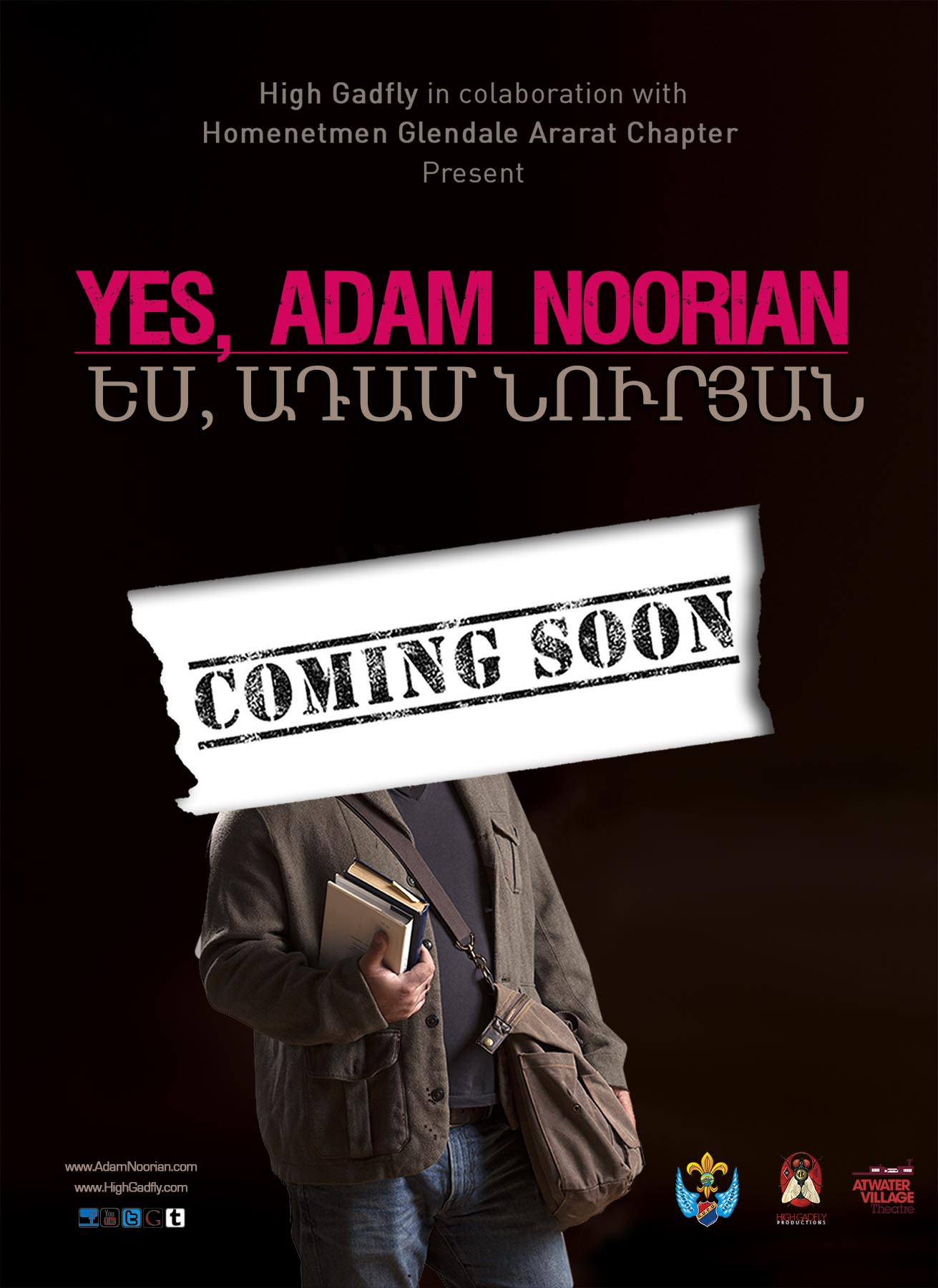 Yes, Adam Noorian