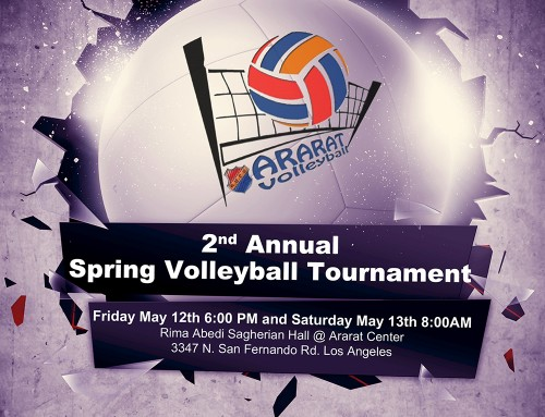 2nd Annual Spring Volleyball Tournament