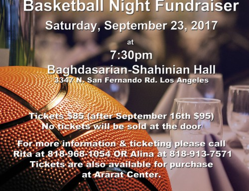 Basketball Night Fundraiser
