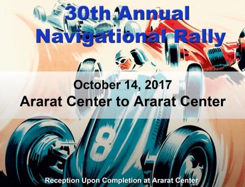 30th Annual Navigational Rally