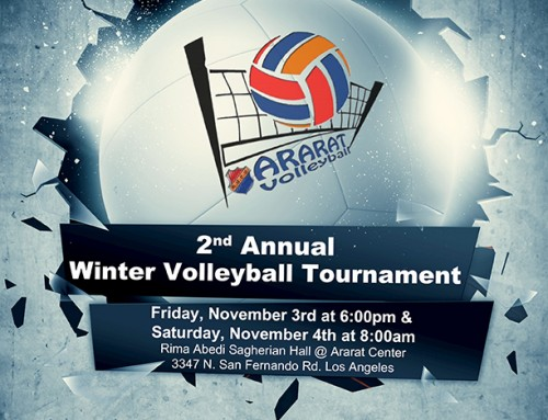 2nd Annual Winter Volleyball Tournament
