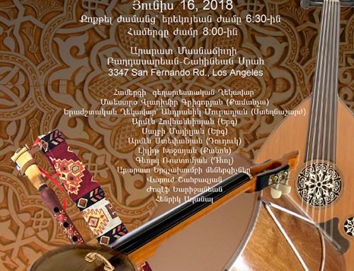 Armenian music festival