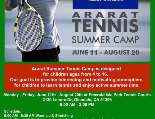 Ararat Tennis Summer Camp