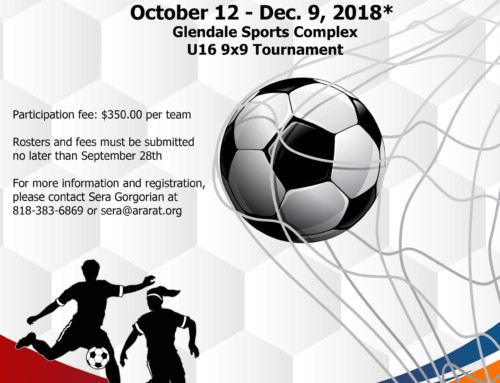 Ararat Friendship Soccer Tournament