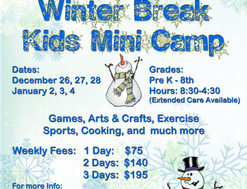 Winter Break Kids Mini Camp