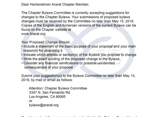 ByLaws Short Letter