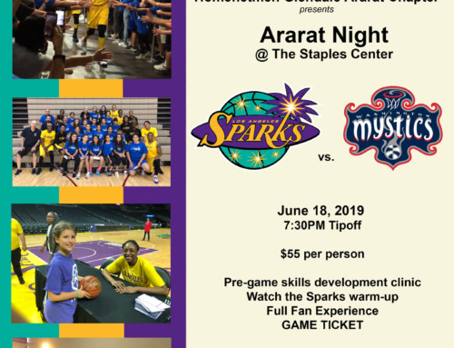 Ararat Night at The Staples Center