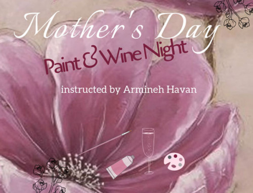 Mother's Day Paint & Wine Night