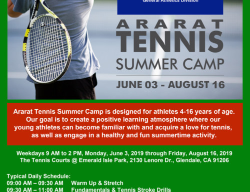 Ararat Tennis Summer Camp
