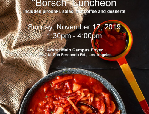 """Borsch"" Luncheon"