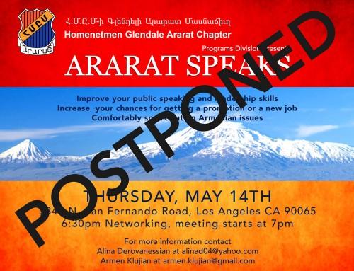 Ararat Speaks