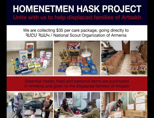 Homentmen Hask Project