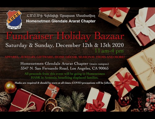 Fundraiser Holiday Bazaar