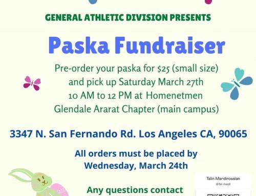Paska Fundraiser